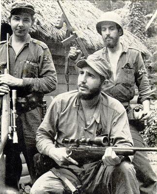 Fidel Castro 1959 Cuban Revolution Raul  left  and Fidel Castro