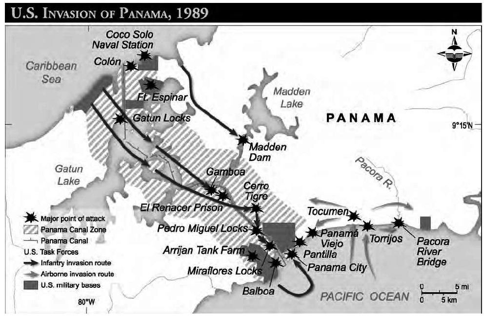 a history of the united states invasion of panama and its consequences Author: major william j conley jr, united states marine corps  situation that  led up to the intervention in panama and the complexity of the issues that  influenced the  (washington, joint history office, office of the joint chiefs of  staff, 1995)  6  coordination at the inter-agency level in order to maximize their  effect 14.
