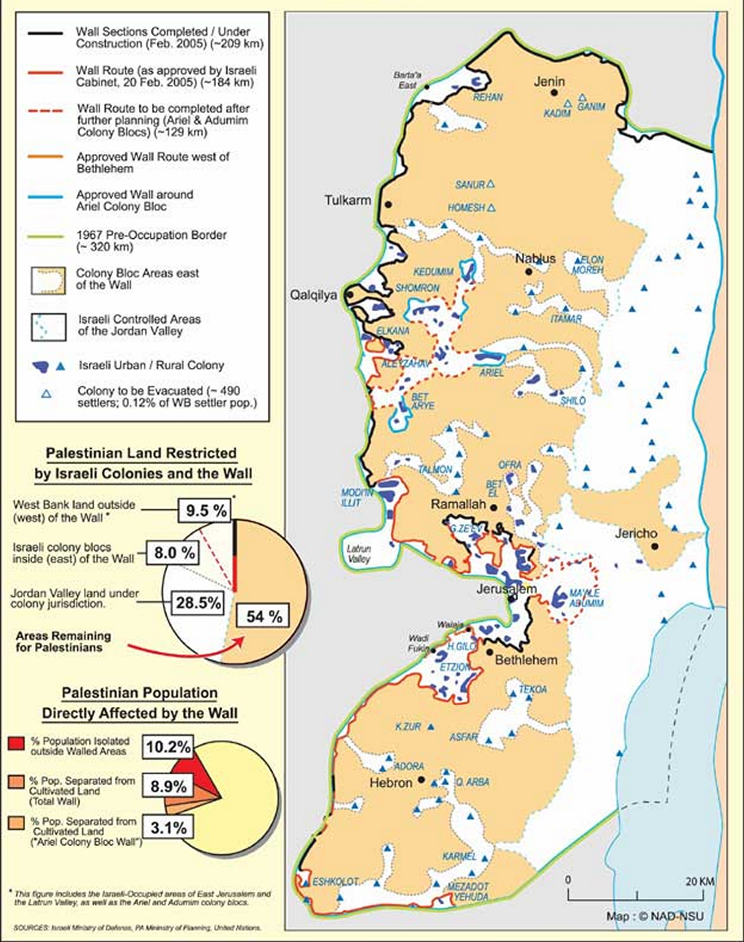 2005 map of the Annexa...